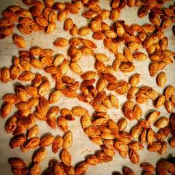 Smoky Roasted Pumpkin Seeds