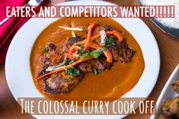 Colossal Curry Cookoff 2017 – Eat or Compete!