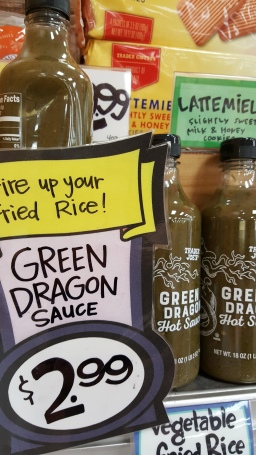 Trader Joe's Tip: Green Dragon Hot Sauce