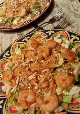 Shrimp & Chopped Salad Recipe Weight Watchers 7 Points